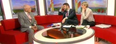 Charles on BBC Breakfast